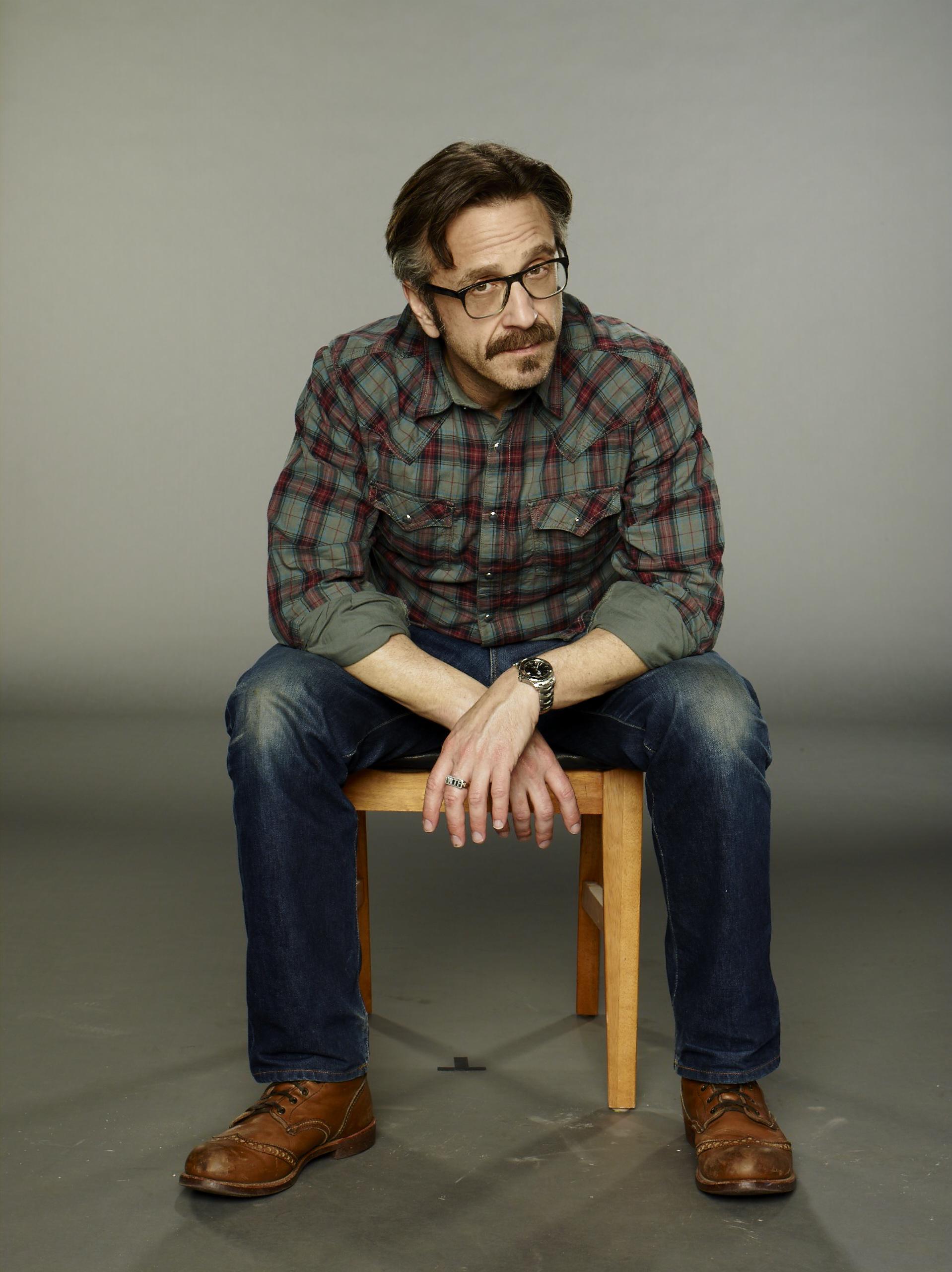 marc maron in designer jeans